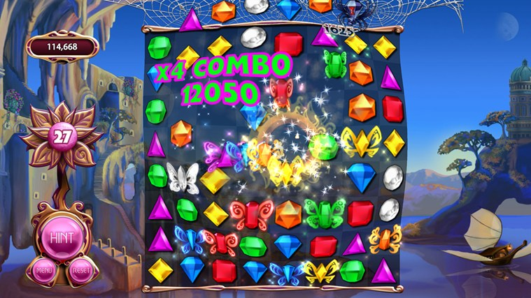 Bejeweled LIVE captura de pantalla 6