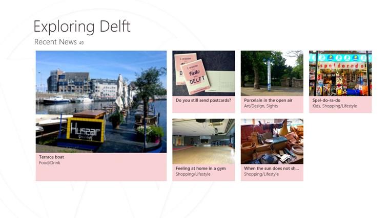 Exploring Delft screen shot 0