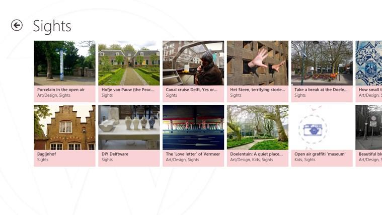Exploring Delft screen shot 2