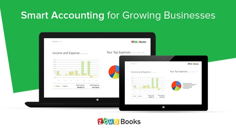 Zoho Books - Accounting on the go! screen shot 0
