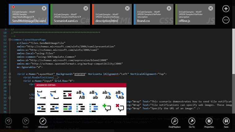 Code Writer screen shot 0