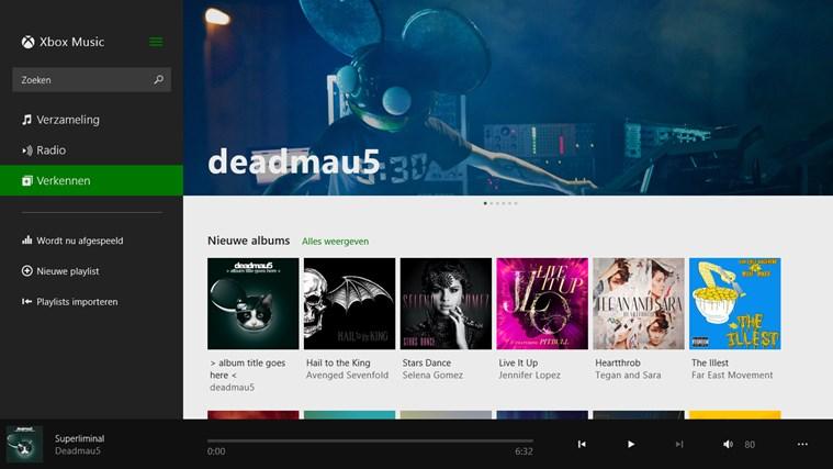 Muziek schermafbeelding 2