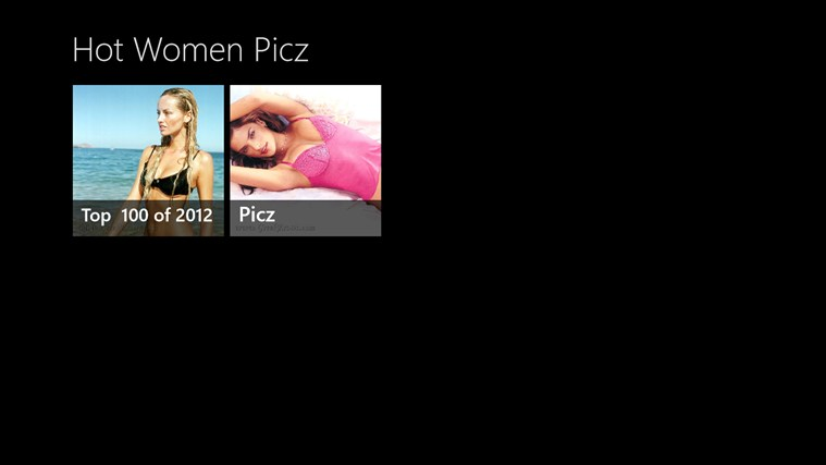 Hot Women Picz screen shot 0