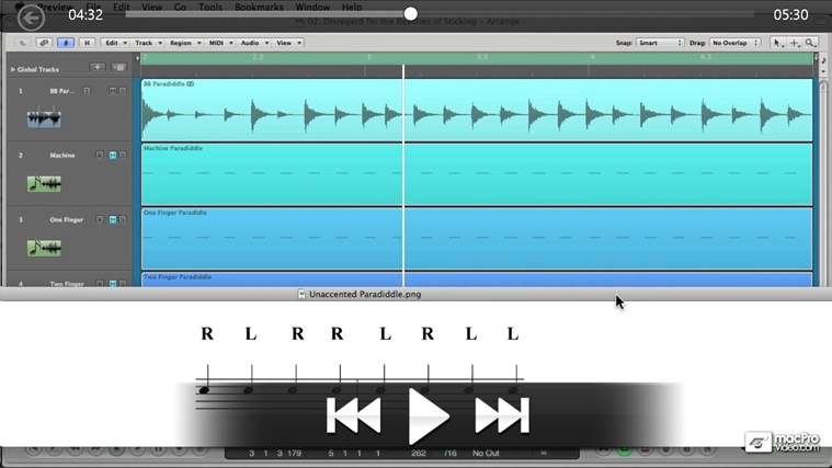 Native Instruments 200 - Battery: Drum Programming screen shot 2