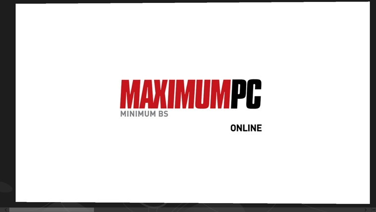 MaximumPC Online screen shot 6