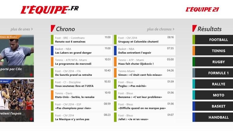 L'Equipe.fr capture d'écran 2