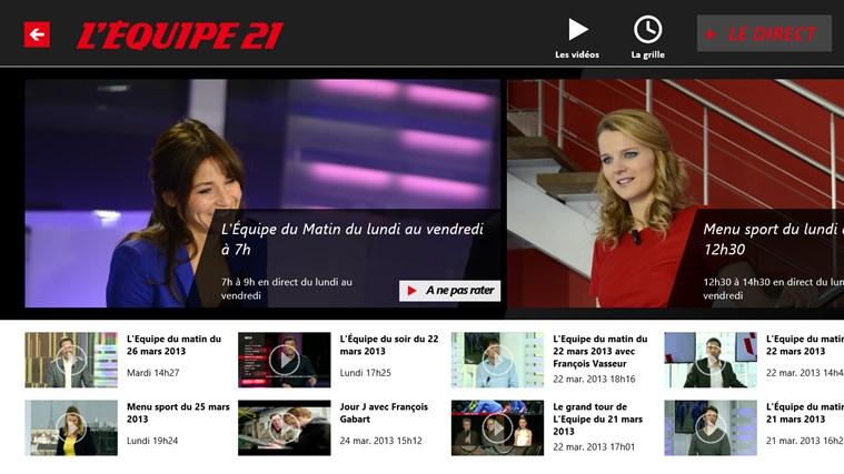 L'Equipe.fr capture d'écran 4