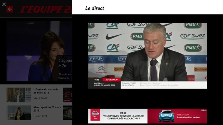 L'Equipe.fr capture d'écran 6
