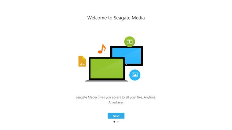 Seagate Media screen shot 0
