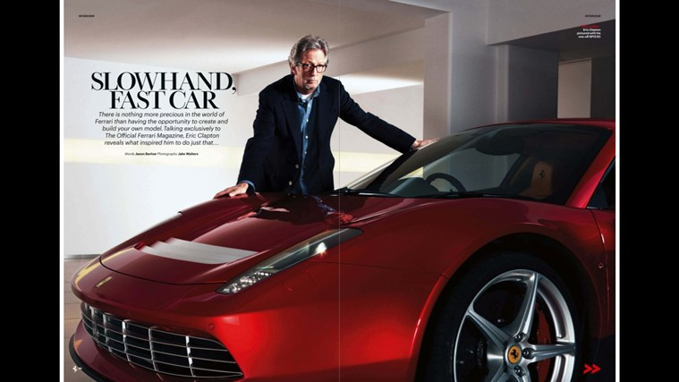The Official Ferrari Magazine screen shot 2