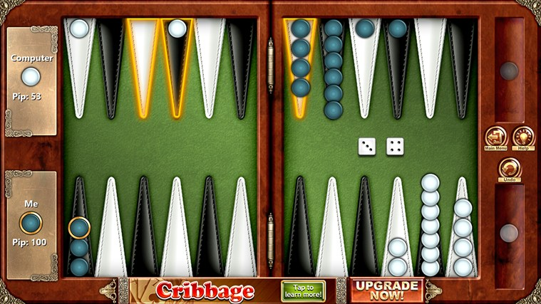 Backgammon Free screen shot 0