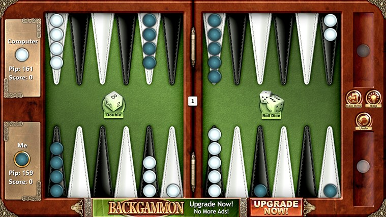 Backgammon Free screen shot 2