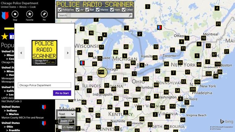 Police Radio Scanner screen shot 6