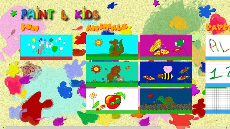Paint 4 Kids screen shot 6