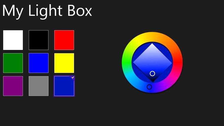 MyLightBox seswantšho sa sekrini 0