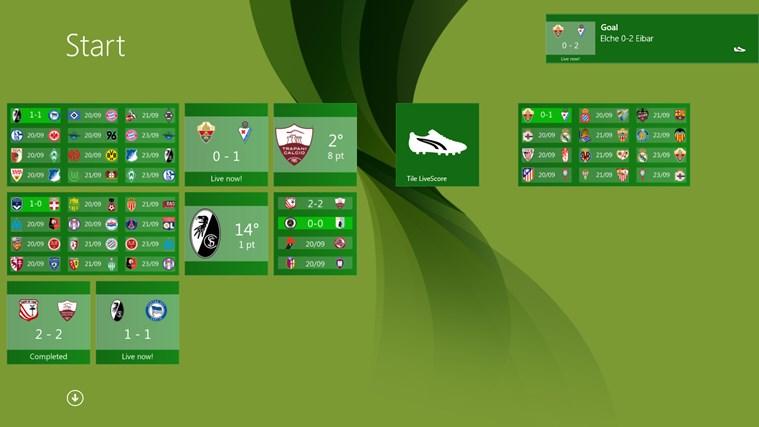 Tile LiveScore capture d'écran 4