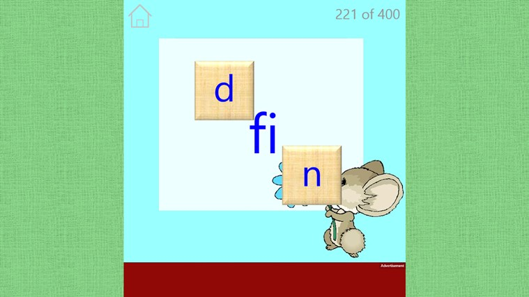 Preschool Spelling screen shot 2