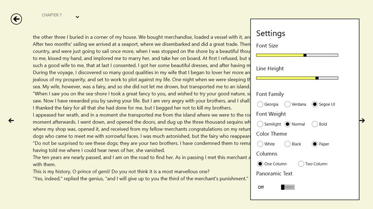 epub reader 8 screen shot 2