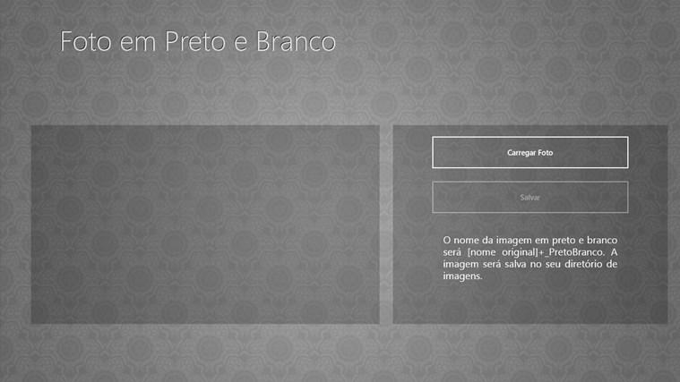 Foto em Preto e Branco screen shot 0