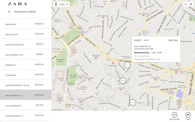 Zara captura de pantalla 6