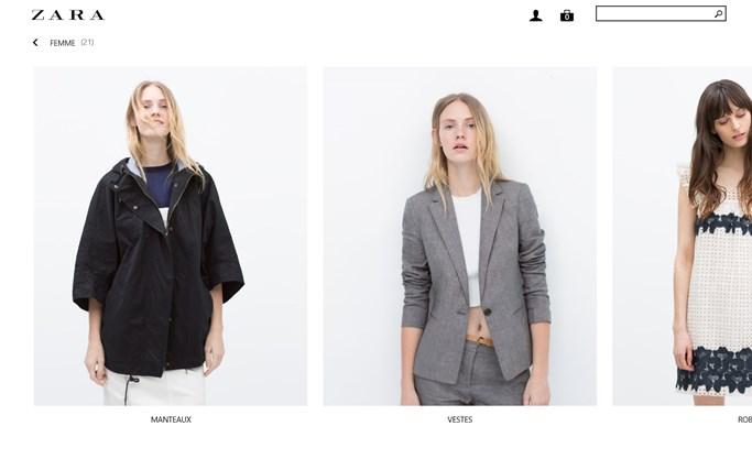 Zara capture d'écran 2