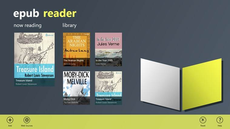 Epub reader windows 8