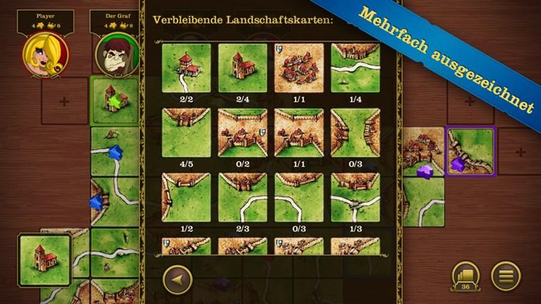 Carcassonne Screenshot 2