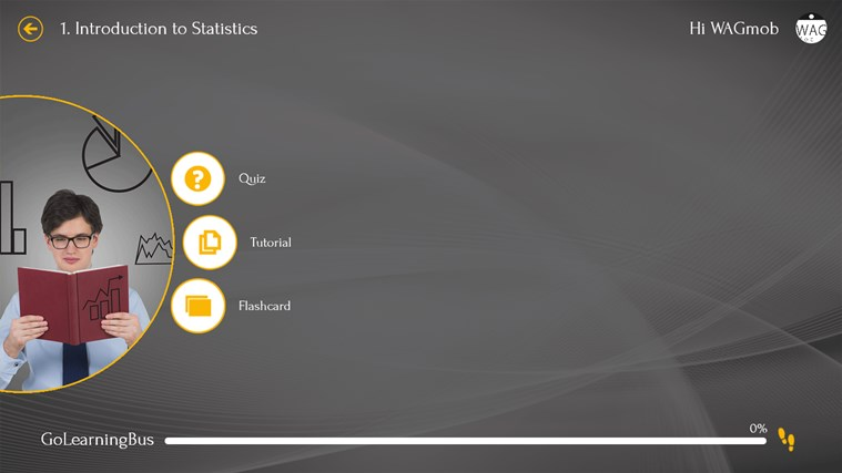 Statistics by WAGmob screen shot 2