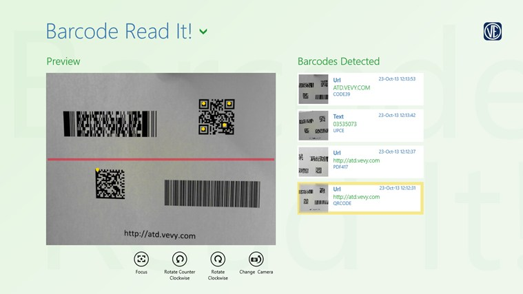 Barcode Read It! screen shot 0