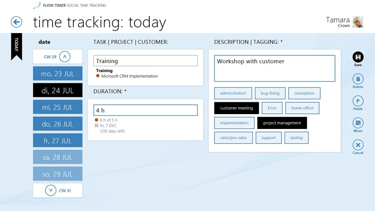 flow.timer - social time tracking screen shot 2