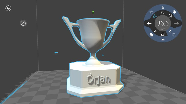 3D Builder-skärmbild 4
