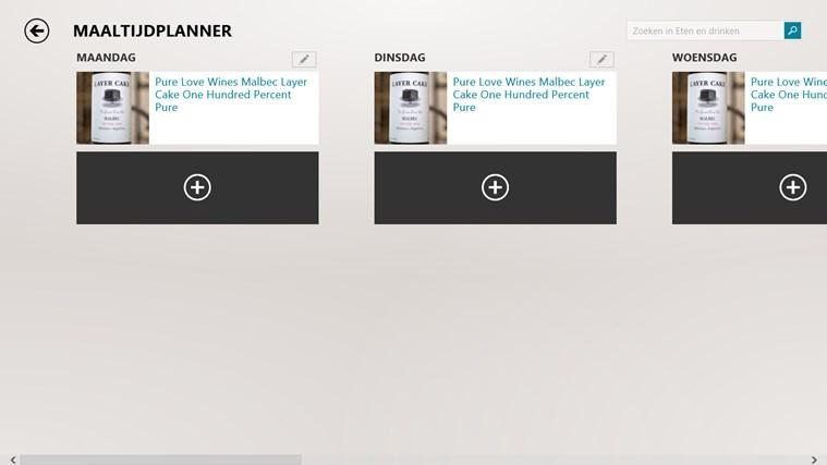 Bing Eten en drinken schermafbeelding 2