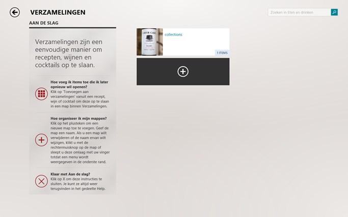 Bing Eten en drinken schermafbeelding 4
