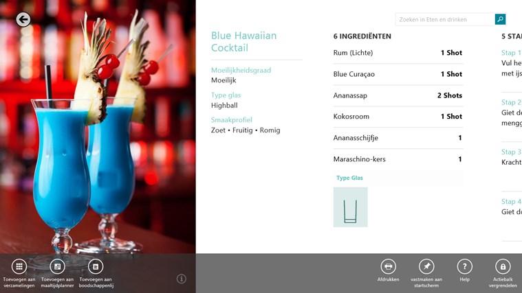 Bing Eten en drinken schermafbeelding 6