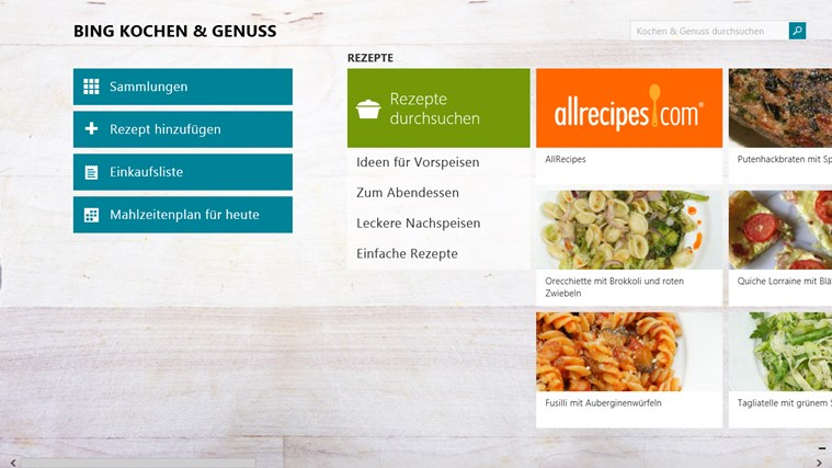 Bing Kochen & Genuss Screenshot 0