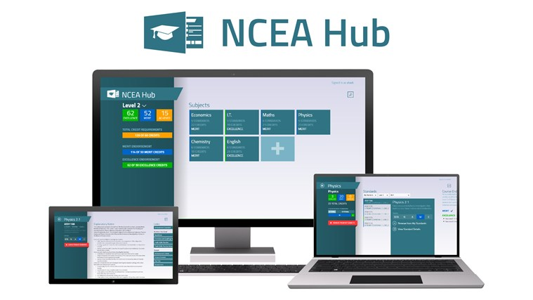 NCEA Hub screen shot 0