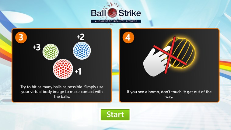 BallStrike screen shot 2