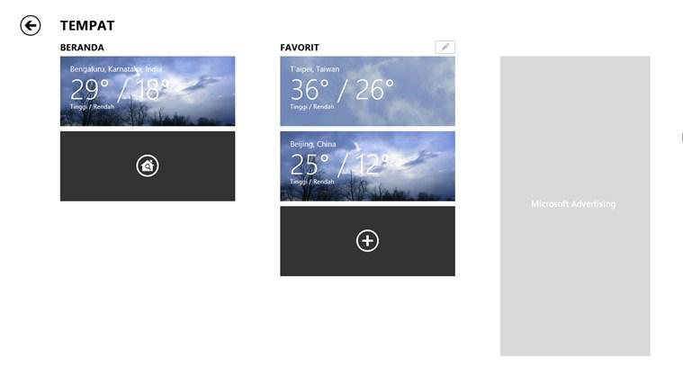 MSN Cuaca screenshot 6