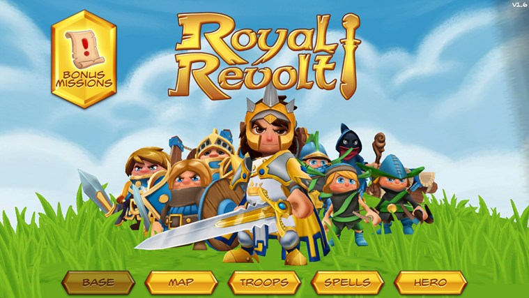 Royal Revolt! screen shot 0