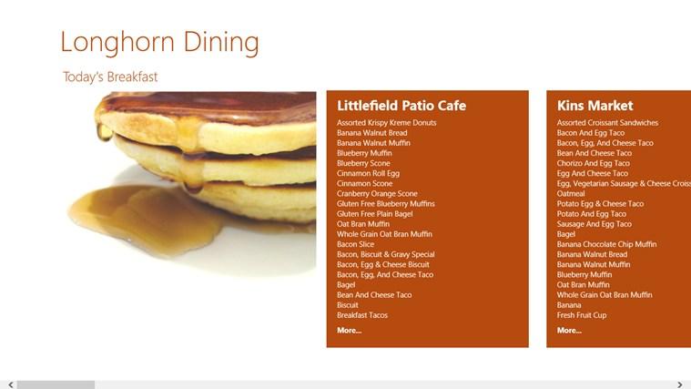 Longhorn Dining screen shot 0