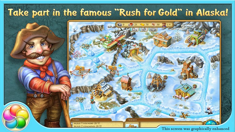Rush for Gold: Alaska screen shot 0