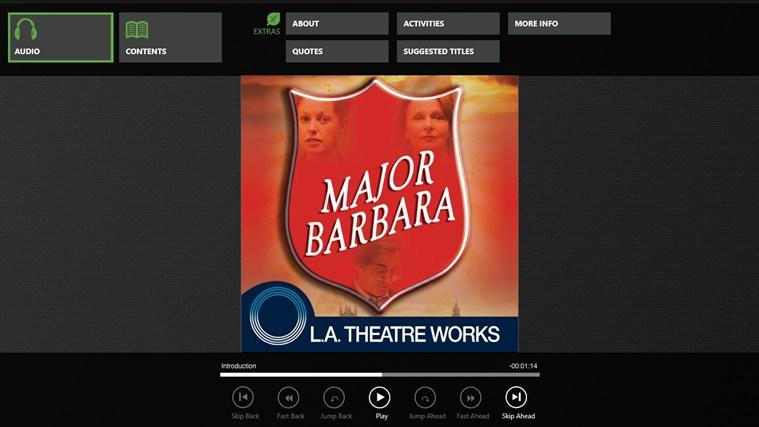 Major Barbara (George Bernard Shaw) zrzut ekranu 0