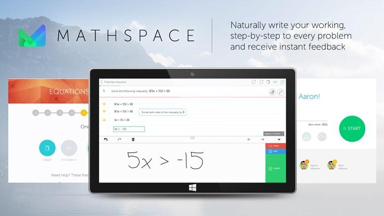 Mathspace screen shot 0