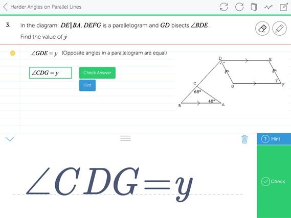 Mathspace screen shot 6