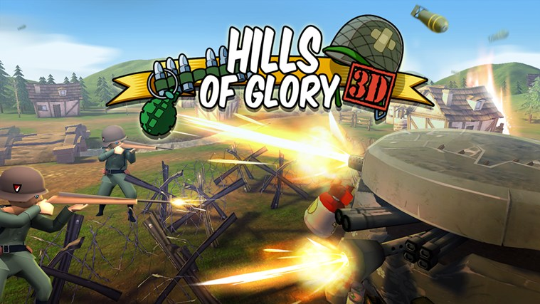 Hills Of Glory 3D Free screen shot 0
