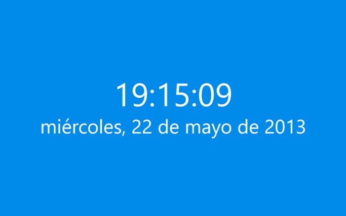 Clock World Tile captura de pantalla 2
