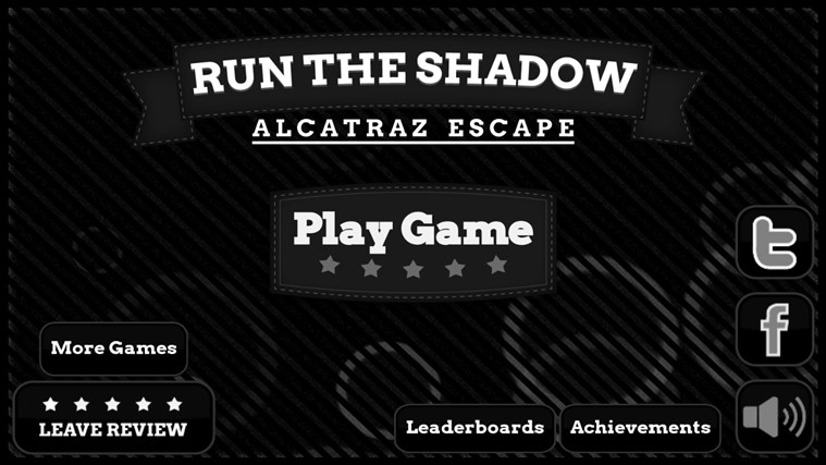 Run The Shadow: Alcatraz Escape screen shot 0