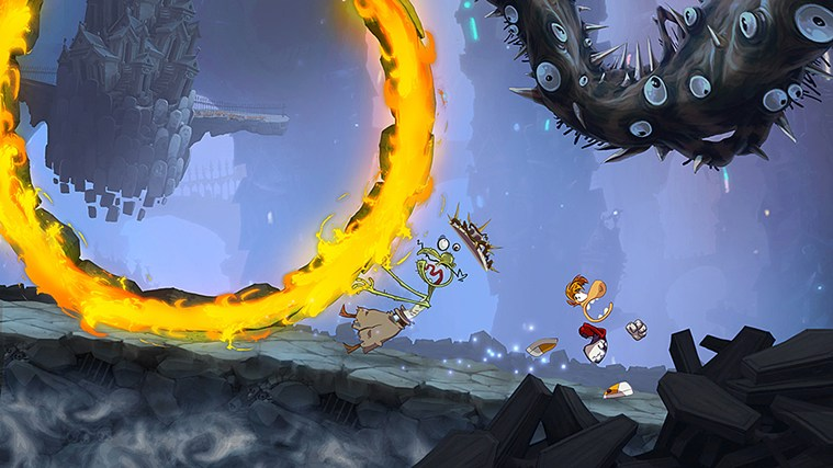 Rayman Jungle Run screen shot 4