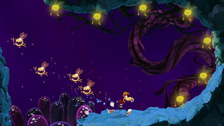 Rayman Jungle Run captura de tela 0