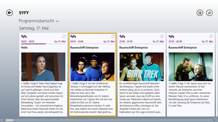 TV-Programm Screenshot 4